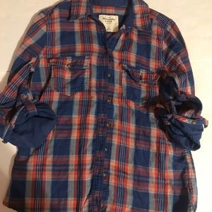 Abercrombie and Fitch size medium flannel shirt